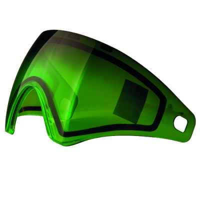 Virtue VIO Paintball Thermal Maskenglas (Fade Lime) | Paintball Sports