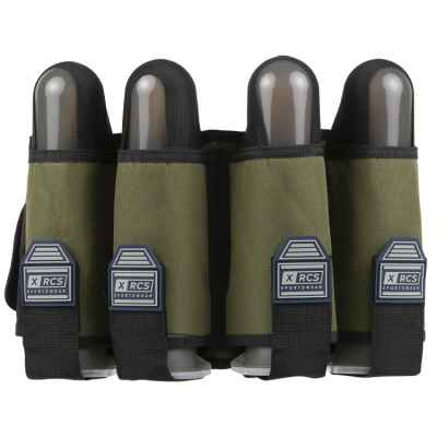XRCS Paintball 4 Pod Battlepack (Oliv) | Paintball Sports