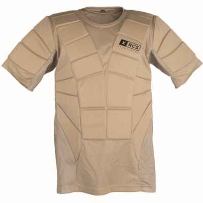 XRCS ProTector Paintball Brustpanzer (Desert/Tan) | Paintball Sports
