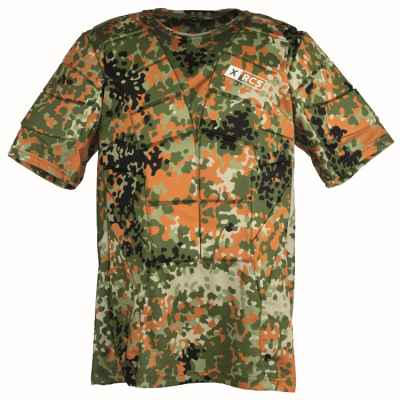 XRCS ProTector Paintball Brustpanzer (Flecktarn) 2XL | Paintball Sports