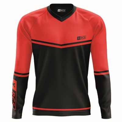 XRCS Paintball Tournament Jersey (schwarz/rot) | Paintball Sports