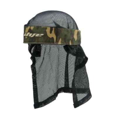 Dye Paintball Head Wrap (Oliv / Camo) | Paintball Sports