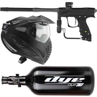 DYE Rize CZR Sparpaket (Schwarz) | Paintball Sports