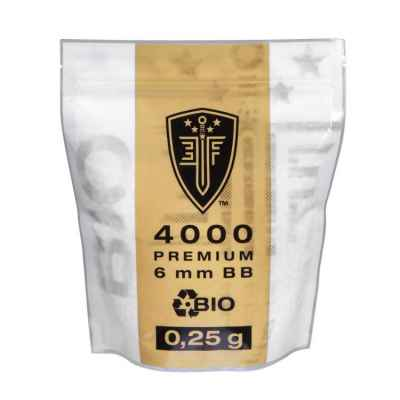 Elite Force BIO Airsoft BB´s Im Zipper Beutel (4000stk) 0,25g | Paintball Sports