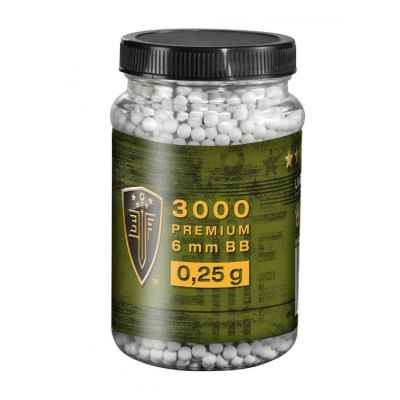 Elite Force Premium Airsoft BB´s im Behälter (3000stk) 0,25g | Paintball Sports