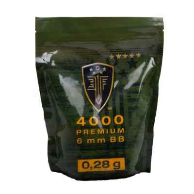 Elite Force Premium Airsoft BB´s im Zipper Beutel (4000stk) 0,28g | Paintball Sports