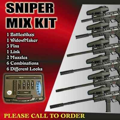 Hammerhead Sniper Lauf Kit (Tippmann A5 / X7) | Paintball Sports