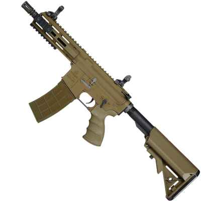 Tippmann Recon Shorty Airsoft S-AEG TAN | Paintball Sports
