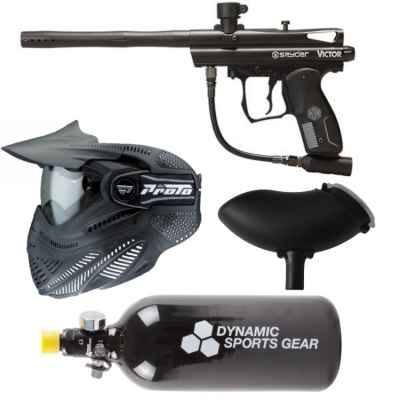 Spyder Victor Paintball Markierer Sparpaket / Komplettset | Paintball Sports