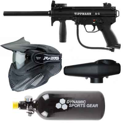 Tippmann A-5 Paintball Sparpaket / Komplettset | Paintball Sports