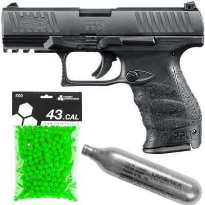 Walther PPQ RAM Pistole Players Pack / Paintball Sparpaket | Paintball Sports