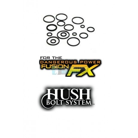 TechT O-Ring Kit für den DP Fusion FX Hush Bolt | Paintball Sports