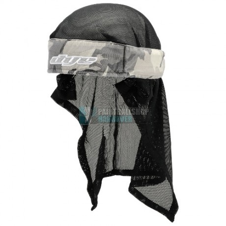 Dye Paintball Head Wrap (Urban Camo / schwarz-grau) | Paintball Sports