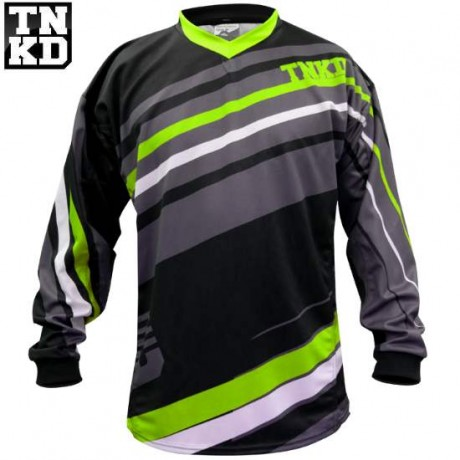Tanked BASIC Paintball Jersey (schwarz/grün) - 2XL | Paintball Sports