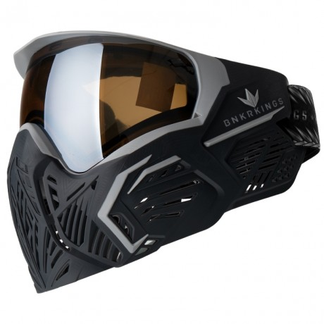 BunkerKings CMD / Command Paintball Maske LTD Edtion (Black Panther) | Paintball Sports