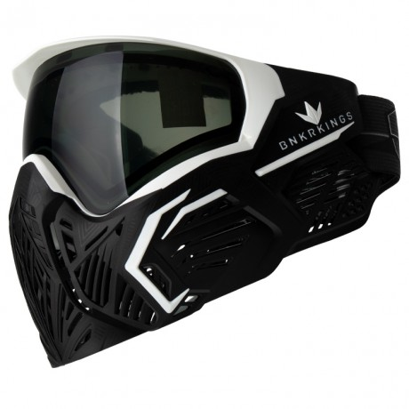 BunkerKings CMD / Command Paintball Maske LTD Edtion (Black Storm) | Paintball Sports