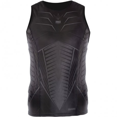 Bunkerkings Fly Sleeveless Compression Top (schwarz) | Paintball Sports