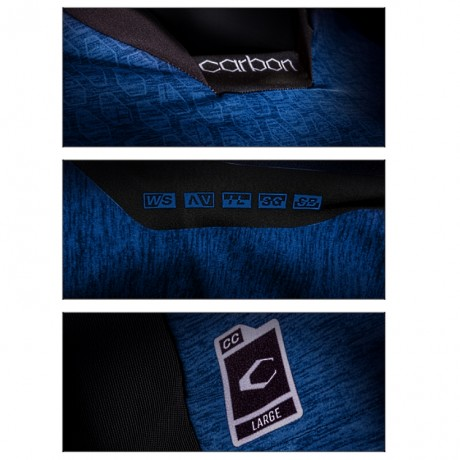 Carbon CC Paintball Jersey (blau) | Paintball Sports