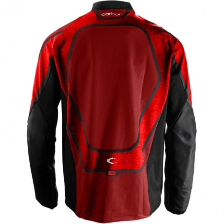 Carbon CC Paintball Jersey (rot) | Paintball Sports