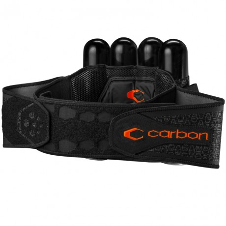 Carbon SC Harness Paintball Battlepack 4+5 (grau) | Paintball Sports