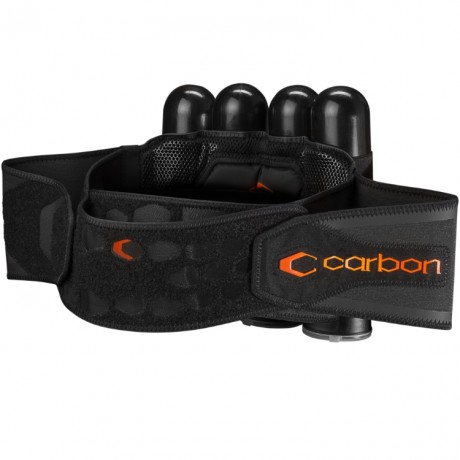 Carbon SC Harness Paintball Battlepack 4+5 (schwarz) - REGULAR | Paintball Sports