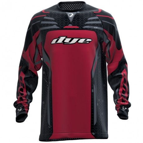 DYE LT Paintball Jersey/Trikot (Red) | Paintball Sports