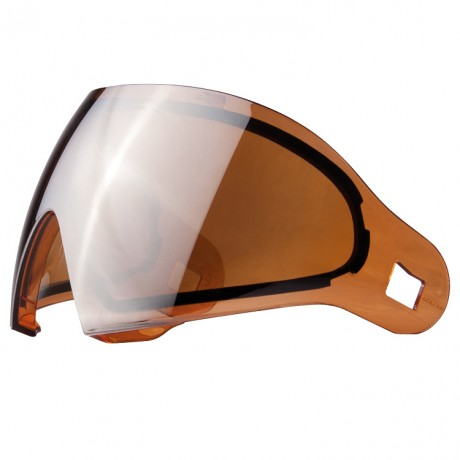 DYE I4 / I5 Paintball Thermal Maskenglas (orange/silver) | Paintball Sports