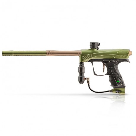 DYE Rize CZR Paintball Markierer (Olive/Tan) | Paintball Sports