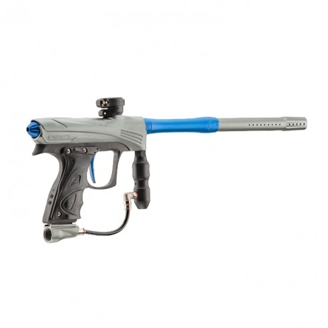 DYE Rize CZR Paintball Markierer (Grey/Blue) | Paintball Sports