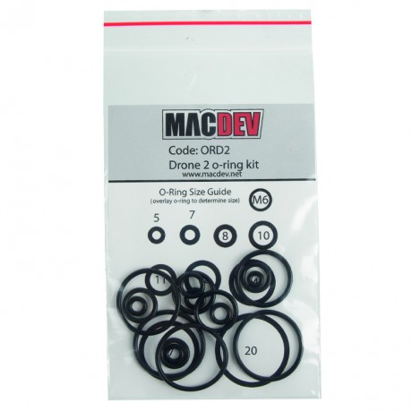 MacDev Drone 2 O-Ring Kit (ORD2) | Paintball Sports