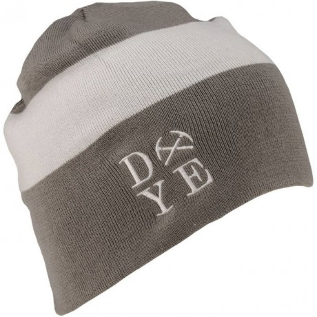 DYE 3am Beanie Paintball Mütze (grau/weiss) | Paintball Sports