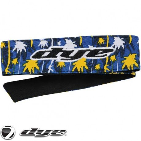 DYE C14 Paintball Head Band/Head Tie (Cali Gold) | Paintball Sports