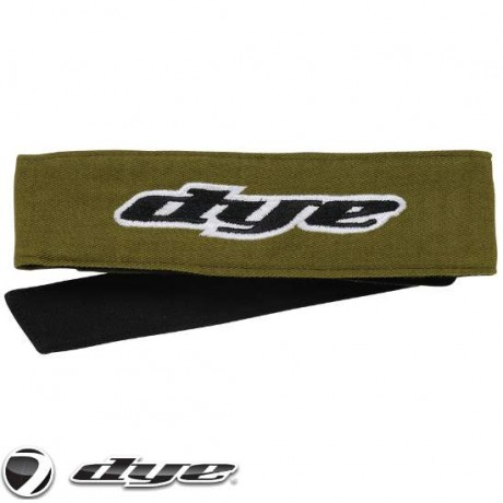 DYE C14 Paintball Head Band/Head Tie (oliv) | Paintball Sports