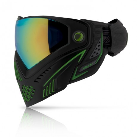 Dye I5 Paintball Thermal Maske EMERALD (grün/schwarz) | Paintball Sports