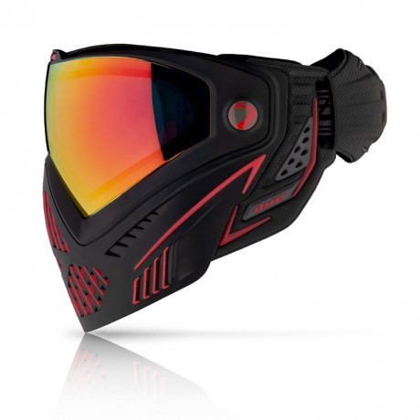 Dye I5 Paintball Thermal Maske FIRE (rot/schwarz) | Paintball Sports