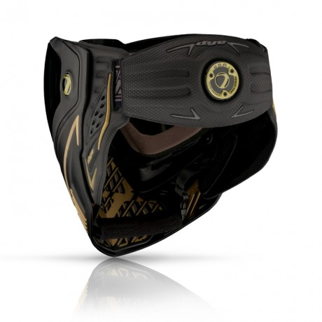 Dye I5 Paintball Thermal Maske ONYX GOLD (gold/schwarz) | Paintball Sports