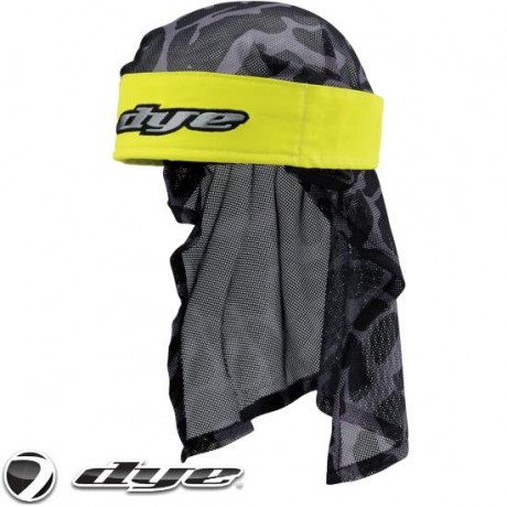 Dye Paintball Head Wrap (Lime Green) | Paintball Sports