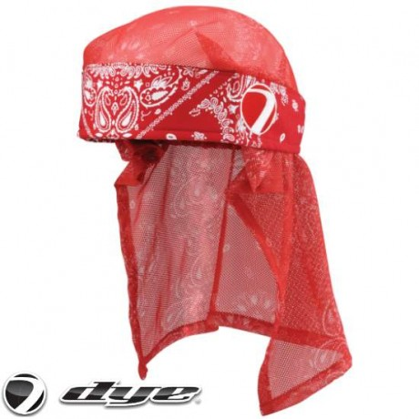 Dye Paintball Head Wrap (Bandana Red) | Paintball Sports