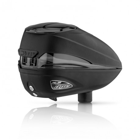 Dye Rotor R-2 Paintball Loader (schwarz / Black) | Paintball Sports