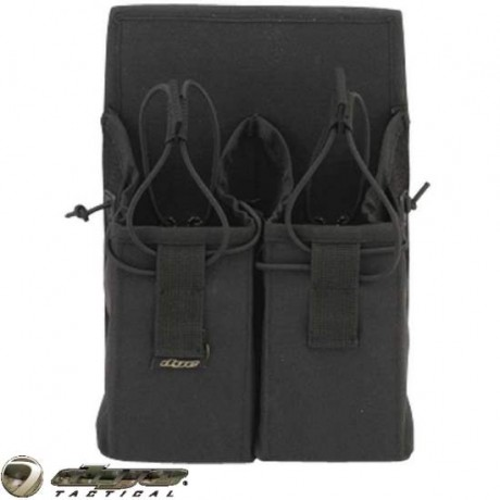 Dye Tactical 10er Magazin Tasche 2+4 (schwarz) | Paintball Sports
