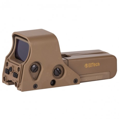 E552 Holosight Green/Red Dot Visier Replika (Tan) | Paintball Sports