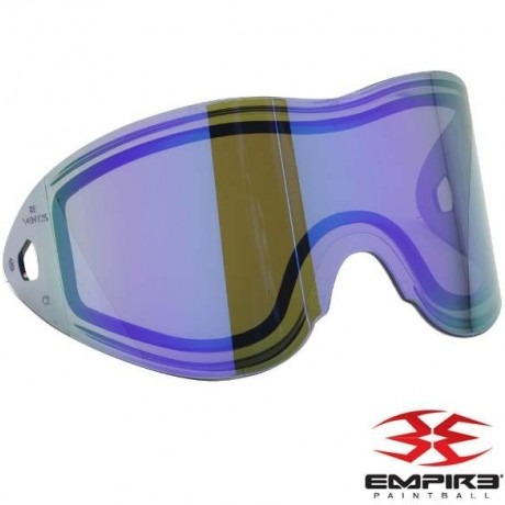 Empire Vents/E-Flex Paintball Thermal Maskenglas (Purple Mirror) | Paintball Sports