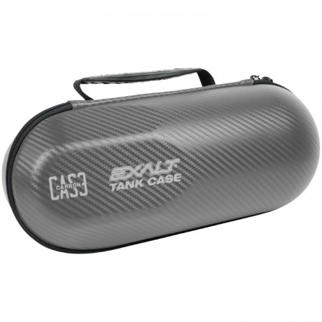 Exalt Carbon Series Bottle Case / Tank Tasche für HP Systeme Limited Edition (grau/blau) | Paintball Sports