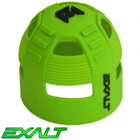 Exalt Paintball Tank Grip Tankcover 45ci bis 68ci (neon grün) | Paintball Sports