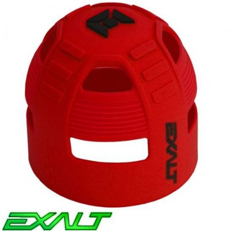 Exalt Paintball Tank Grip Tankcover 45ci bis 68ci (rot) | Paintball Sports