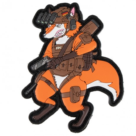 Paintball / Airsoft PVC Klettpatch (Foxtrott – Infantry Operator) | Paintball Sports
