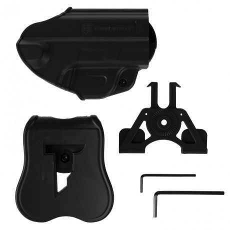 First Strike FSC Paintball Pistolen Holster (schwarz) | Paintball Sports