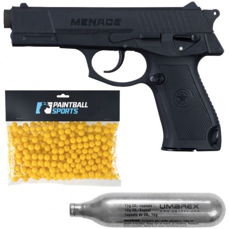 GI Sportz  Menace Paintball Players Pack (schwarz) | Paintball Sports