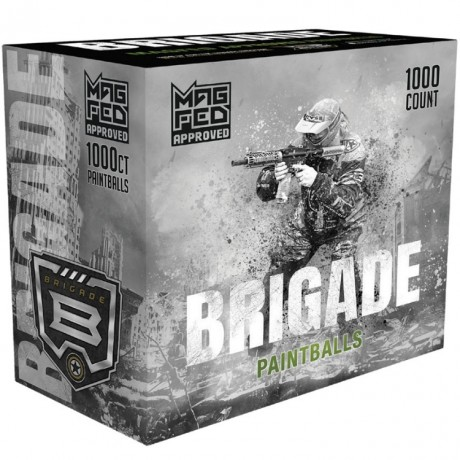 GI Sportz BRIGADE MagFed Paintballs (1000er Ammo Box) | Paintball Sports
