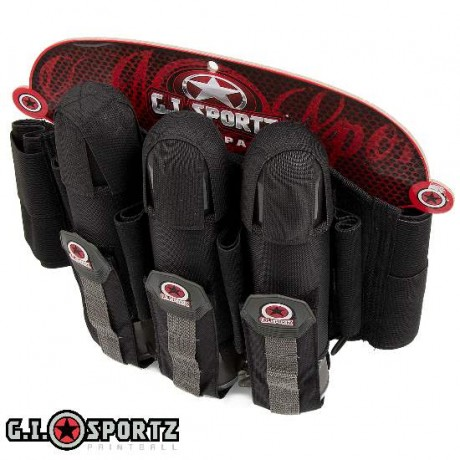 G.I. Sportz Glide 3+4 Paintball Battlepack (schwarz) | Paintball Sports